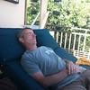 Rex relaxing!