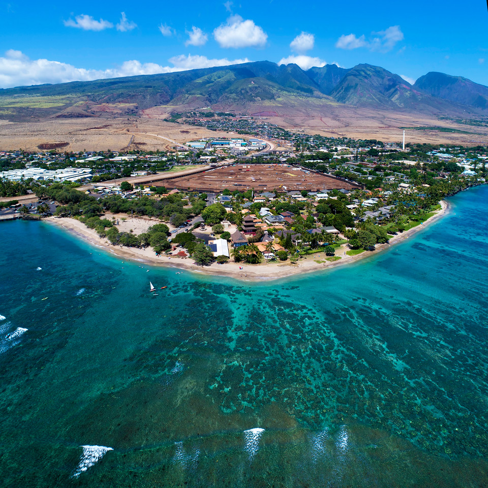 "Drone Aerial Prints & More - ""Baby Beach"" - Island of Maui, Hawaii - Joe West Photography"