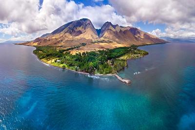 "Drone Aerial Prints & More - ""Maui Shadows"" - Joe West Photography"