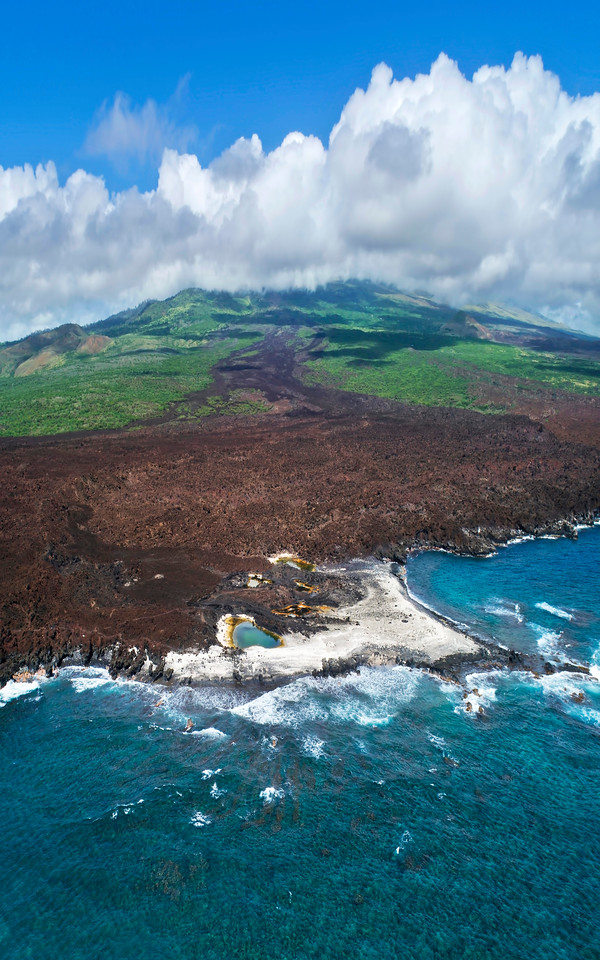 "Drone Aerial Prints & More - ""Kanaio Beach"" -  Island of Maui, Hawaii"
