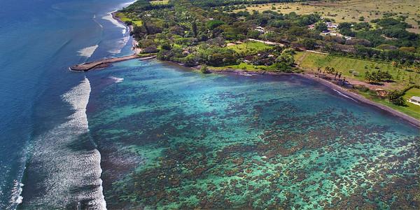 "Hawaii Drone Photography & More  - ""Olowalu Reef 2"" - Island of Maui, Hawaii"