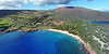 Drone Aerial Prints - Hulopo'e Bay Pano - Island of Lana'i, Hawaii