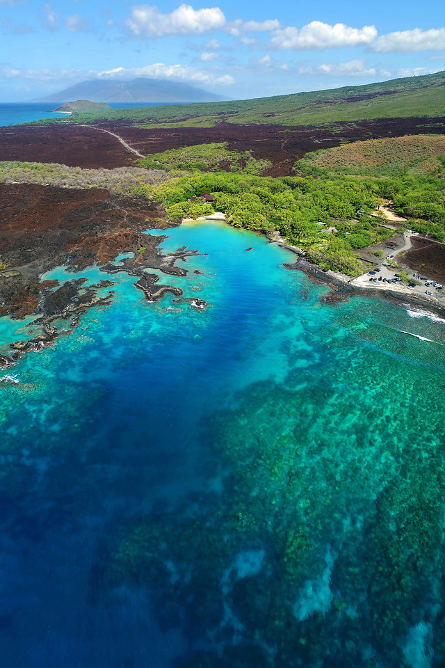 "Drone Aerial Prints & More - ""La Perouse Bay"" - Island of Maui, Hawaii"