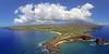 Aerial Drone Print - Island of Lana'i, Hawaii