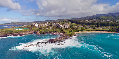 "Drone Aerial Prints & More - ""Kapalua Bay"" - Island of Maui - Hawaii"