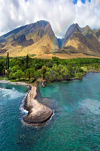 "Drone Aerial Prints & More - ""Olowalu Landing"" - Island of Maui, Hawaii - Joe West Photography"