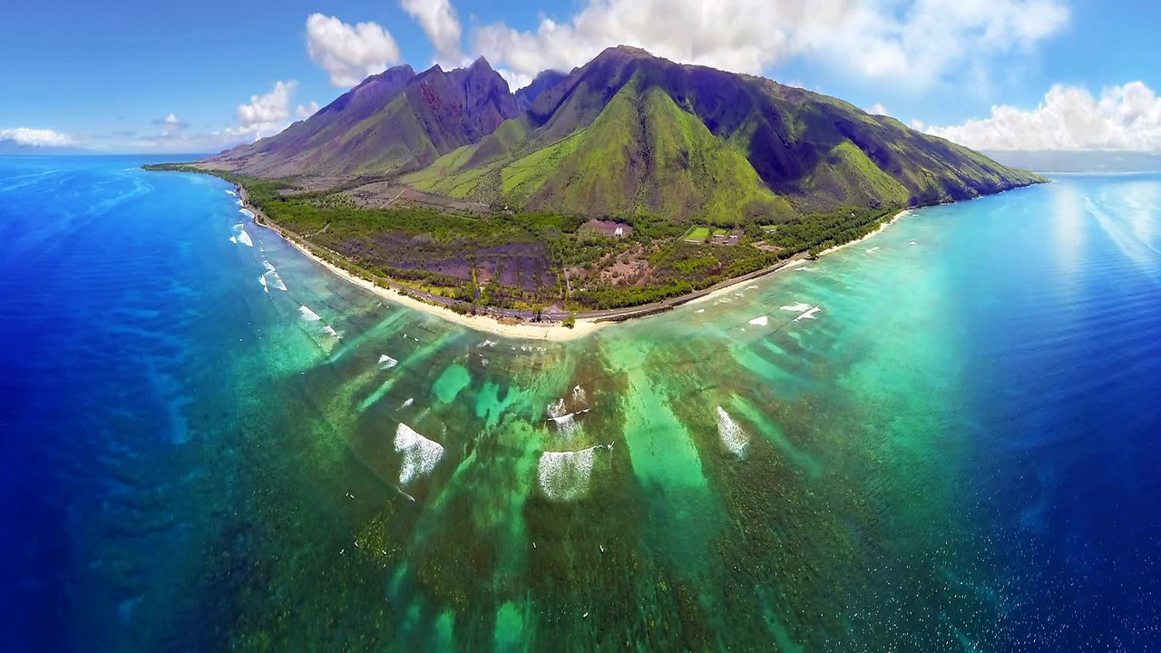 Hawaii Drone Photography - Maui Cinemagraph - Joe West Photography