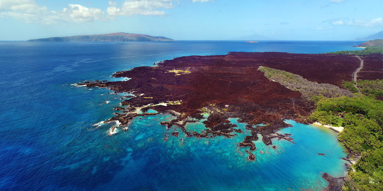 "Drone Aerial Prints & More - ""La Perouse Panorama"" - Island of Maui, Hawaii"