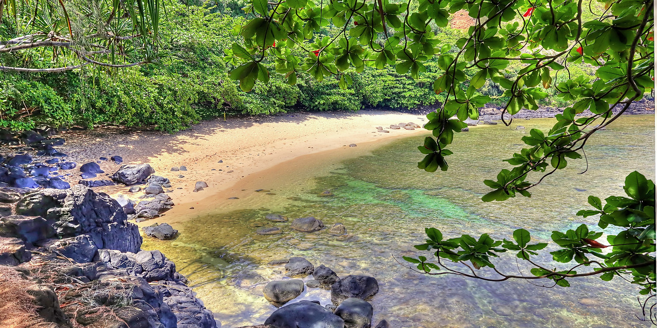 """Hideaway Beach"" - Island of Kaua'i, Hawaii"