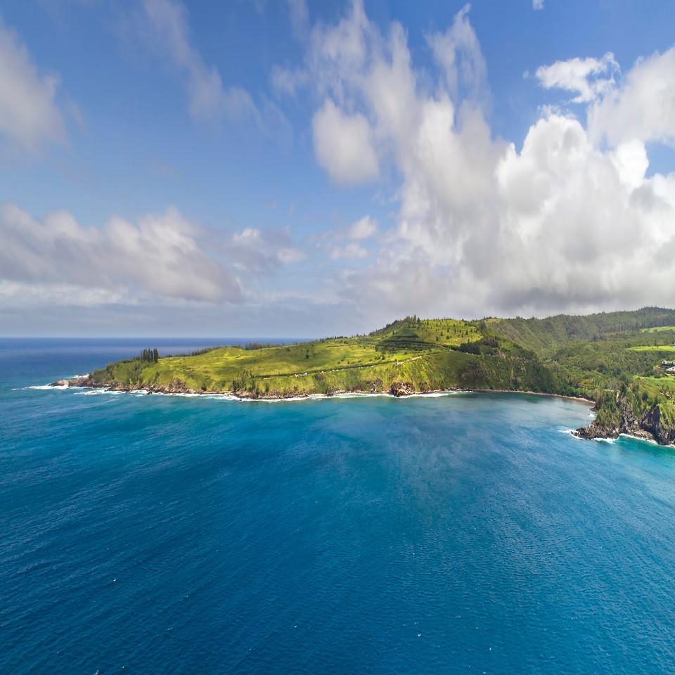 "Drone Aerial Prints & More - ""Honolua Dream"" - Island of Maui, Hawaii"