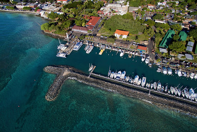 Drone Aerial Prints & More - Lahaina Harbor - Island of Maui, Hawaii