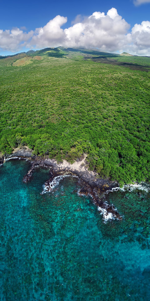 "Drone Aerial Prints & More - ""Hoapili Trail"" - Island of Maui, Hawaii"