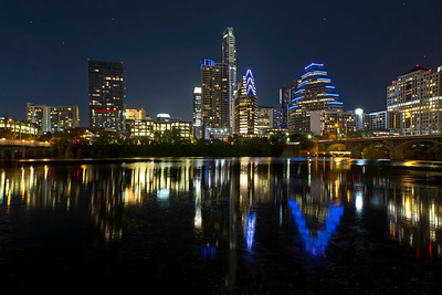 "Drone Aerial Prints & More - ""Austin River View"" - Texas - Joe West Photography"