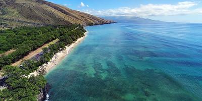 "Drone Aerial Prints & More - ""Papalaua Beach 1"" - Island of Maui, Hawaii"