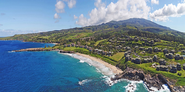 "Drone Aerial Prints & More - ""Oneloa Beach"" - Island of Maui - Hawaii"