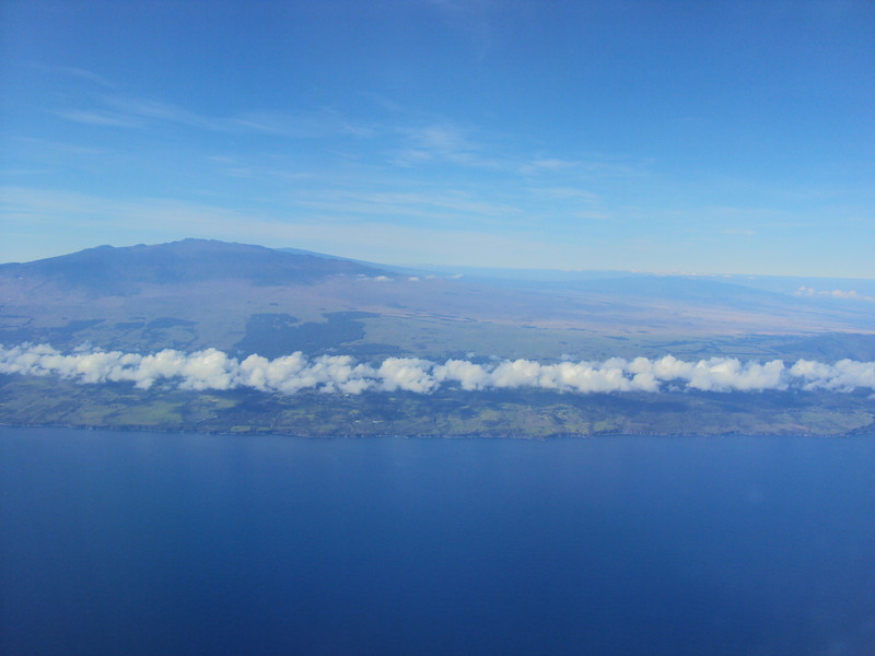 "On the way to the ""Big Island""."