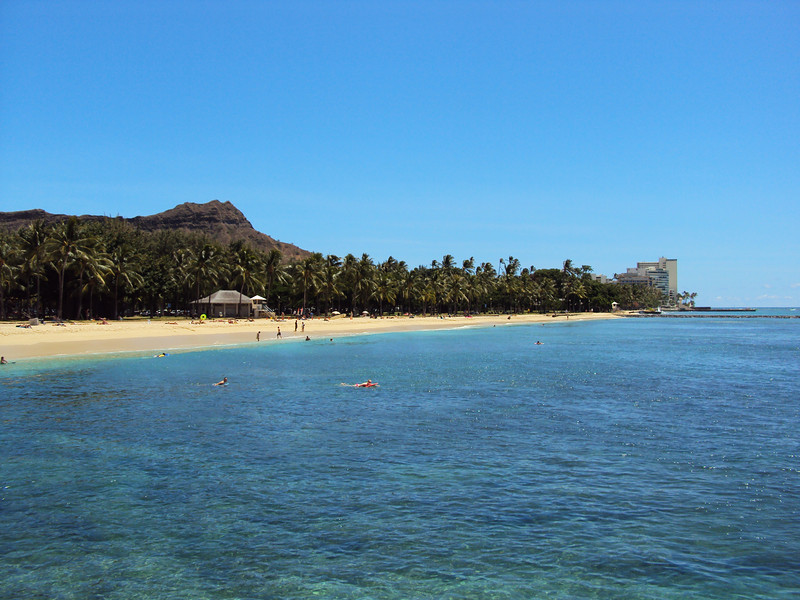 Other side of Wakiki Beach.