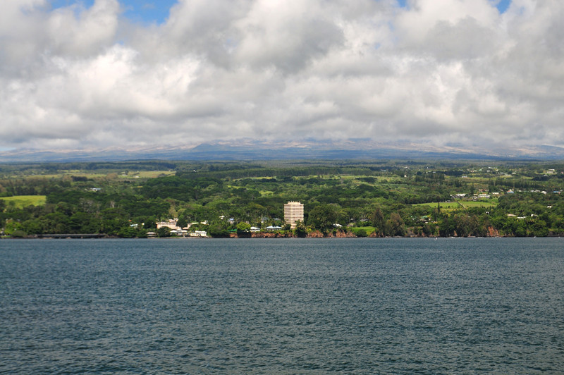 The city of Hilo on the Big Island.