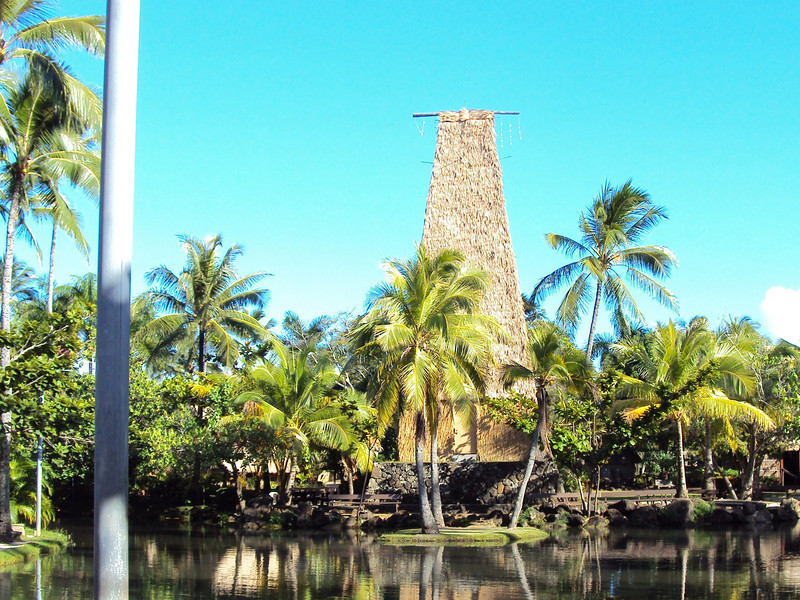 These next few photos are from the Polynesean Cultural Center.