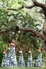 the prince lot hula festival at moanalua gardens