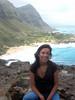 monica and makapu`u beach