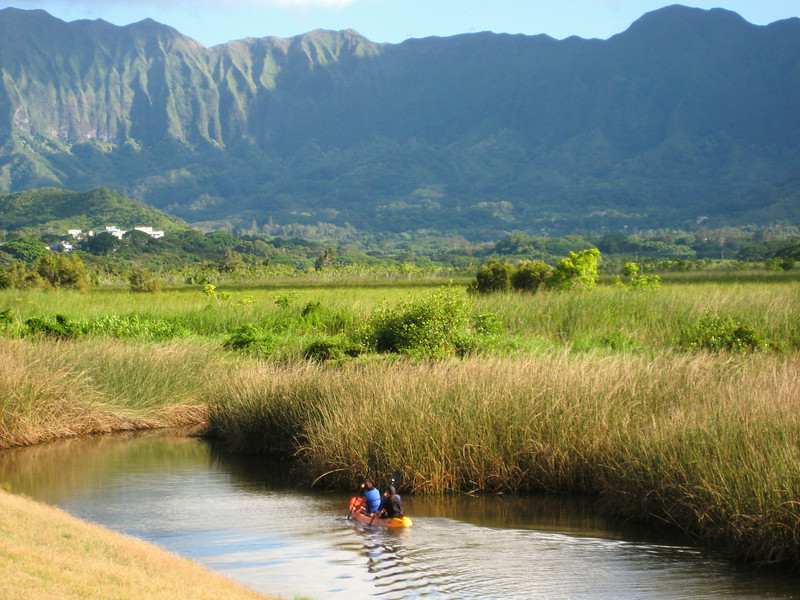 wendy and monica kayaking