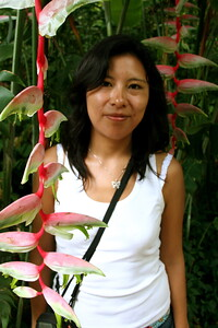 monica at oho`omaluhia botanical gardens