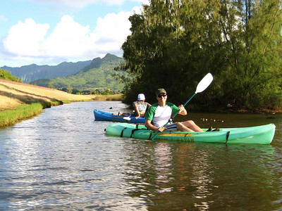 kayakin' in kailua