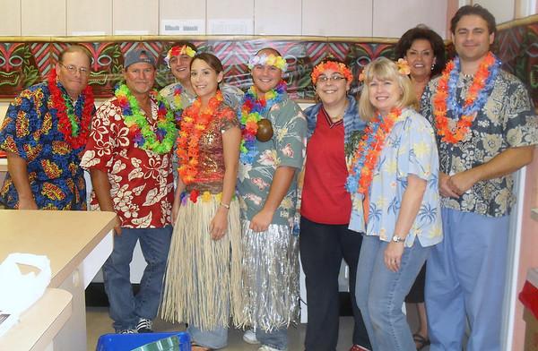 Hawaiian Shirt Luau