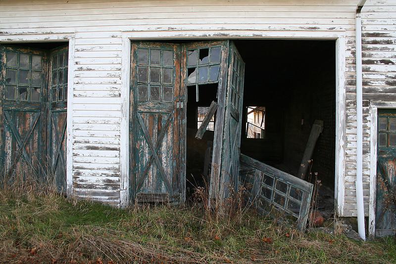 Hayfield  Farm - Broken Doors
