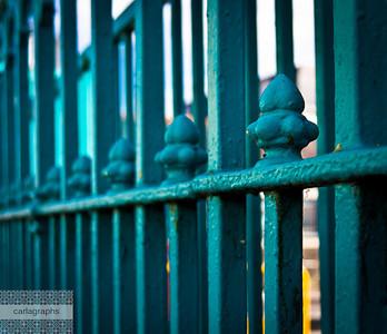 iron fence-