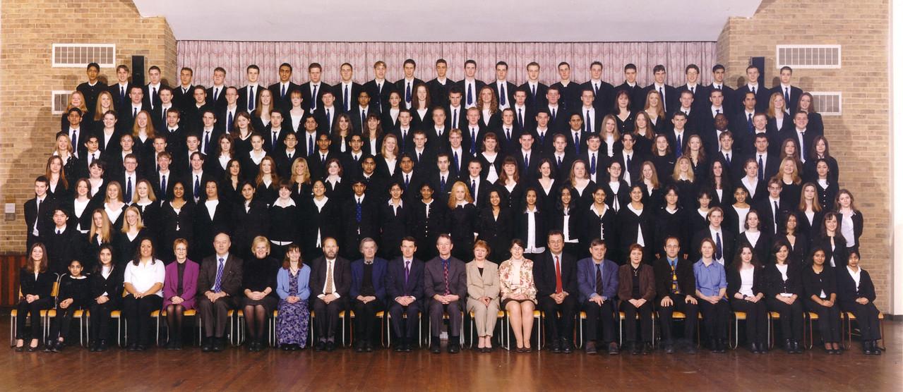 Sixth form school photo