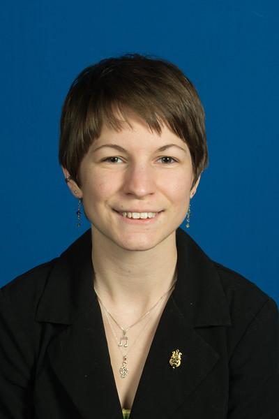 Janelle Huber, Hines Medalist winter 2012