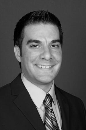 Portrait of Aaron Morales, Caleb Mills Distinguished Teaching Award