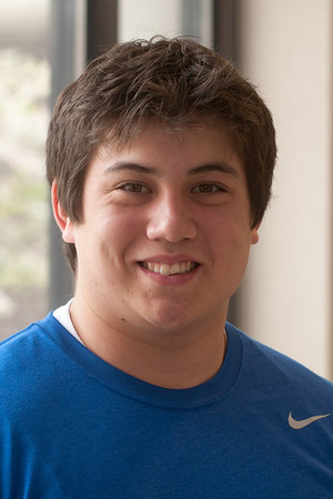 Portrait images of Honors Students for admissions to use in regional postcard distribution