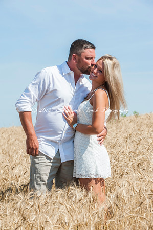 Heather and Justin's engagement pictures
