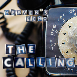 """Album art for the album """"The Calling"""" by Heaven's Echo.  Please note that details (like the fuzzy """"A""""s) will not be as obvious in the album size print."""