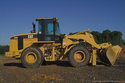 Heavy equipment, construction
