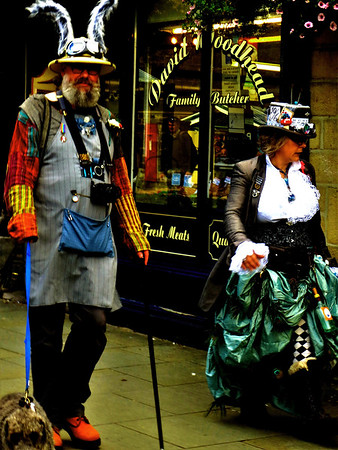 Hebden Bridge: Steam Punk Weekend; 16th Sept 2017