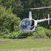 R22 returns from a lesson.