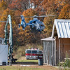 """Visiting jumper broke his femur. Non life-threatening, thankfully. <br><span class=""""skyfilename"""" style=""""font-size:14px"""">2018-11-04_skydive_cpi_0058</span>"""
