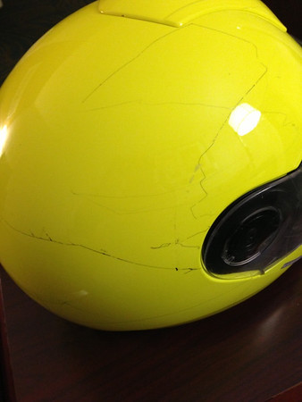 Helmet Cracks