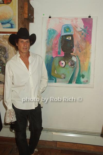 Justin Love, artwork<br /> photo by Rob Rich © 2008 516-676-3939 robwayne1@aol.com