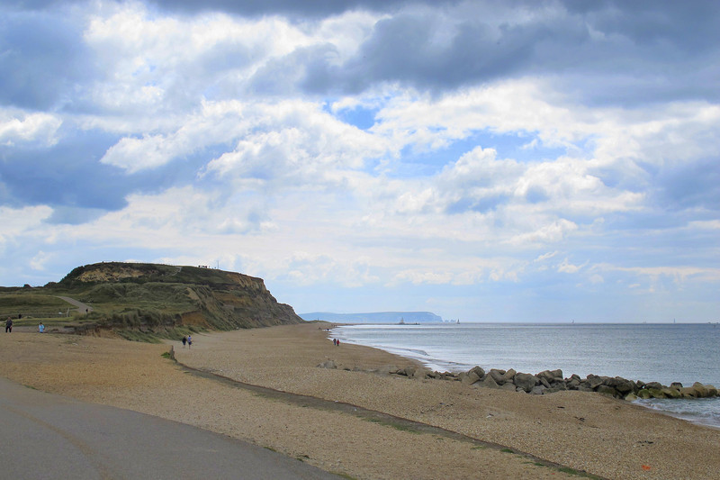 Hengistbury Head and the Needles on the Isle of Wight