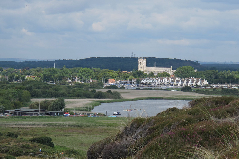 Christchurch Priory and St Catherines Hill