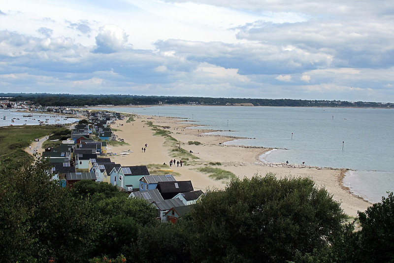 Along the spit towards Mudeford and Friars Cliff beyond