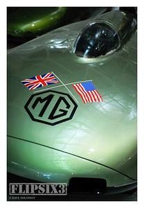 MG Land Speed Record Car