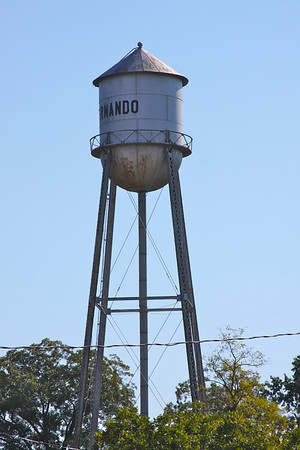 Photo of the water tower in Hernando, MS