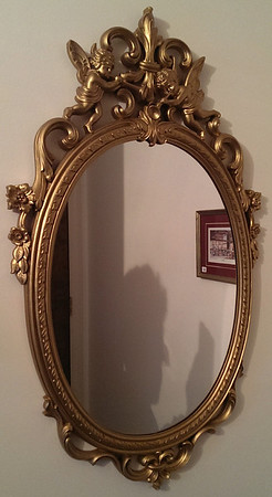 Vintage decorator mirror