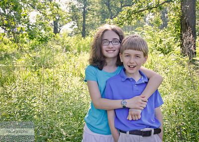 Kids in Tall Grass-